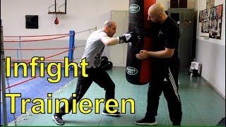Infight Trainieren am Sandsack   Mit Atilla Sendinc!