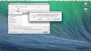 Opening HTML File [Mac]