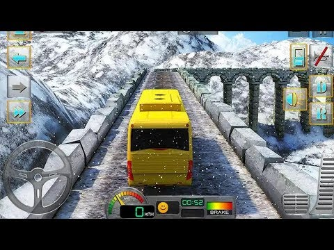 BUS DRIVER 3D HILL STATION DRIVING SIMULATOR GAME #Free Bus Games Download  #BusGamesForKids