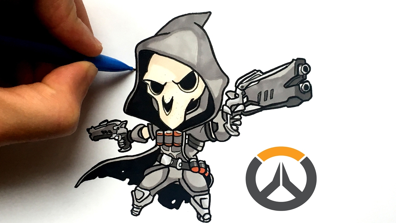 Dessin Faucheur Chibi Overwatch Youtube