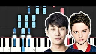 SHAUN - Way Back Home ft Conor Maynard (Piano Tutorial)
