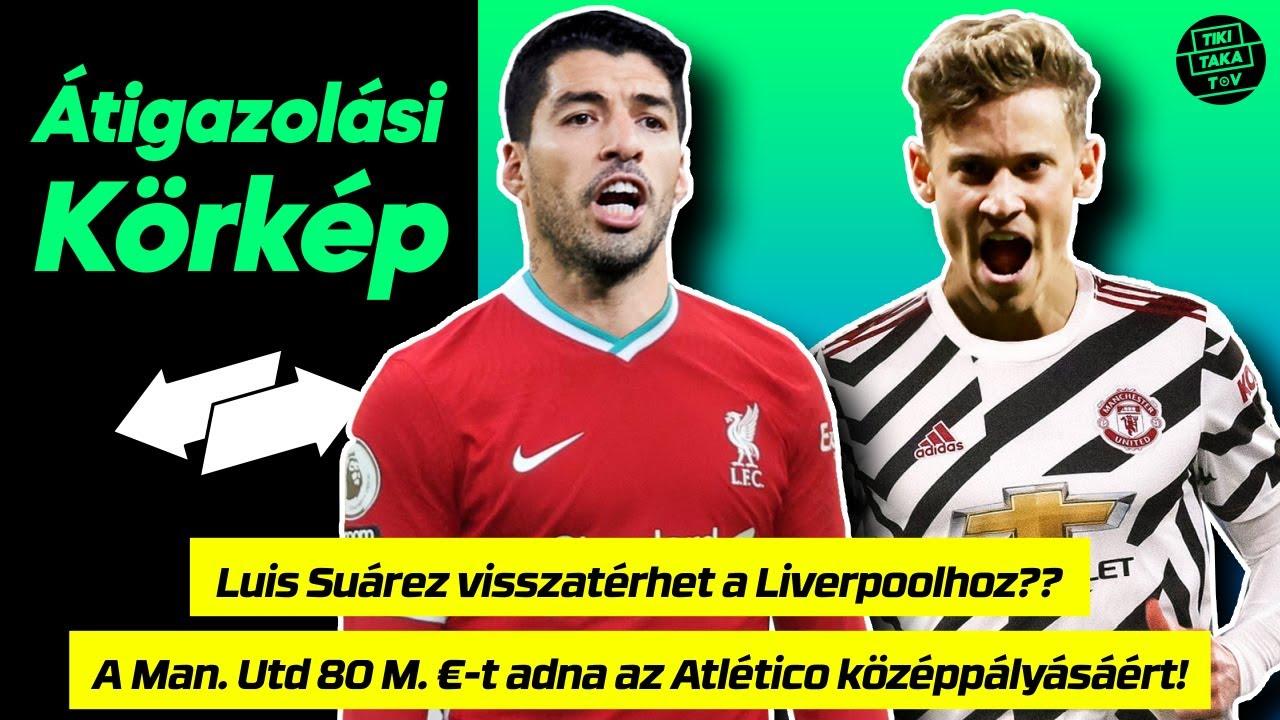 Download Luis Suárez visszatérhet a Liverpoolhoz?? A Man. Utd 80 M. €-t adna az Atlético középpályásáért!