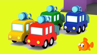 Cartoon Cars - TRUCK MAKERS! - Cartoons for Kids - kids learning videos