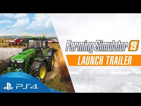 Farming Simulator 19   Launch Trailer   PS4