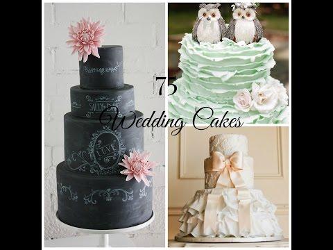 Wedding Cake Ideas | 75 Beautiful Designs