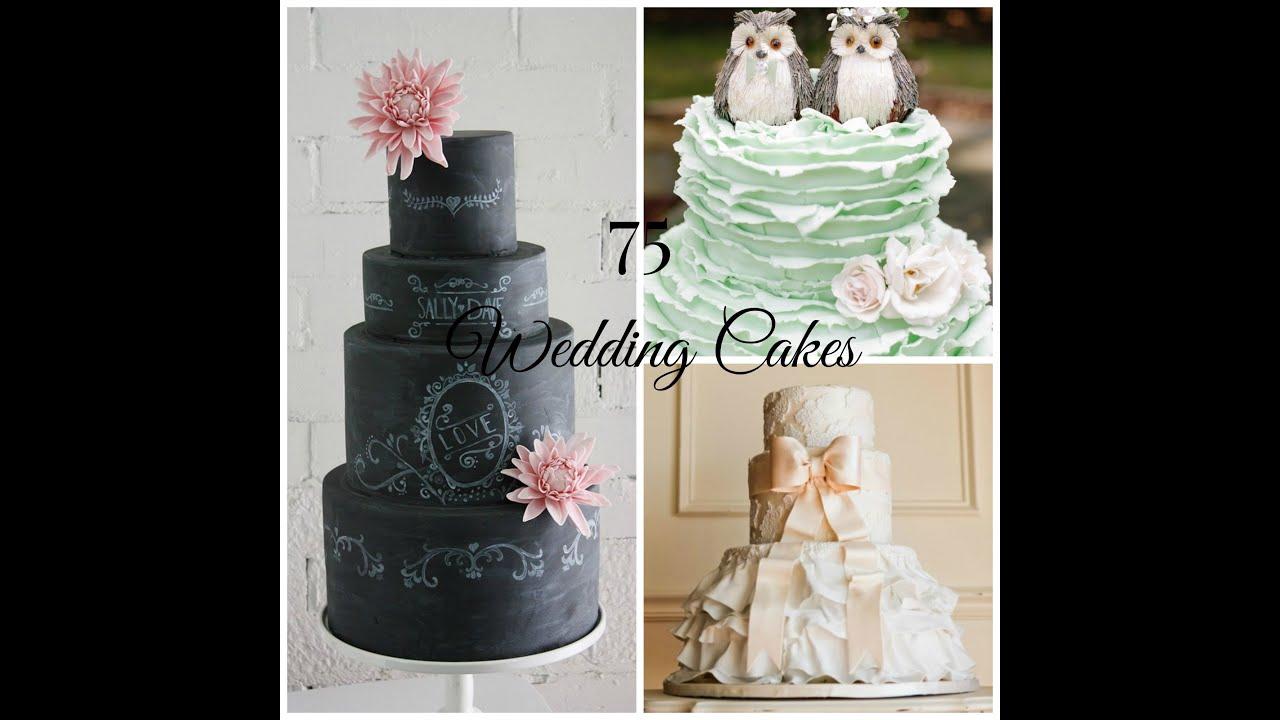 Wedding Cake Ideas   75 Beautiful Designs   YouTube Wedding Cake Ideas   75 Beautiful Designs