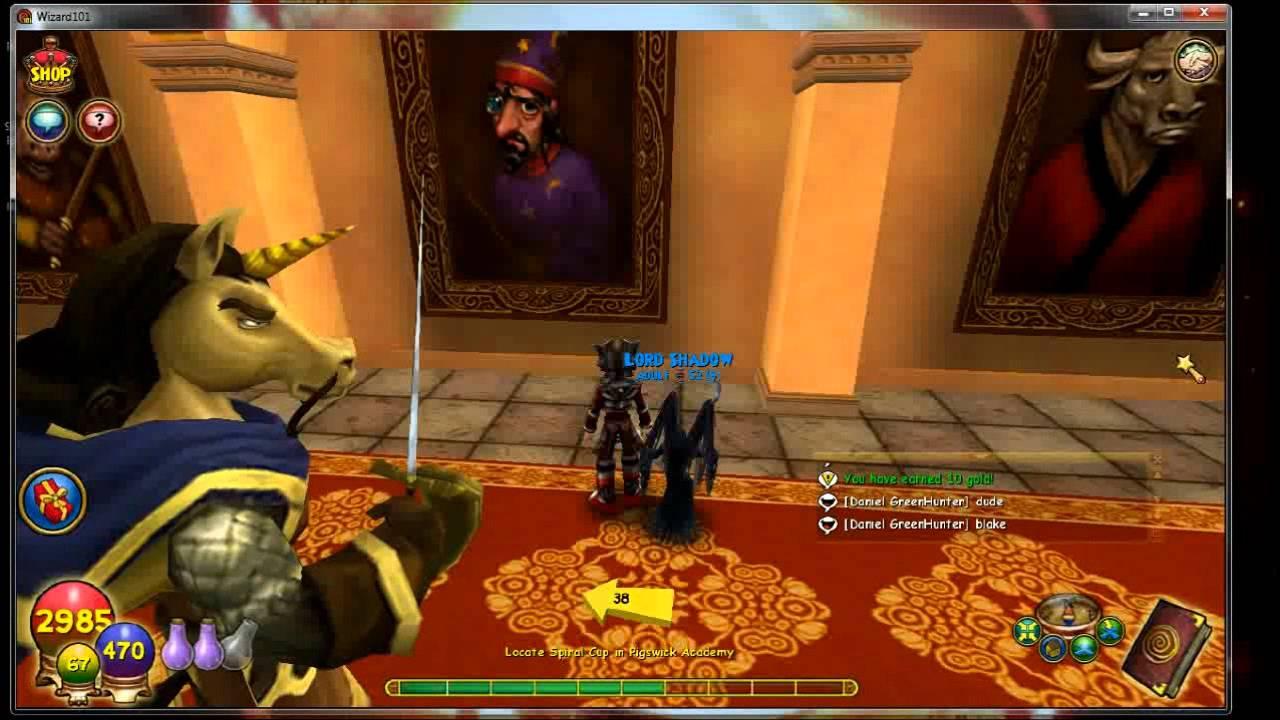 Wizard 101 Playthrough - Wysteria - Part 1