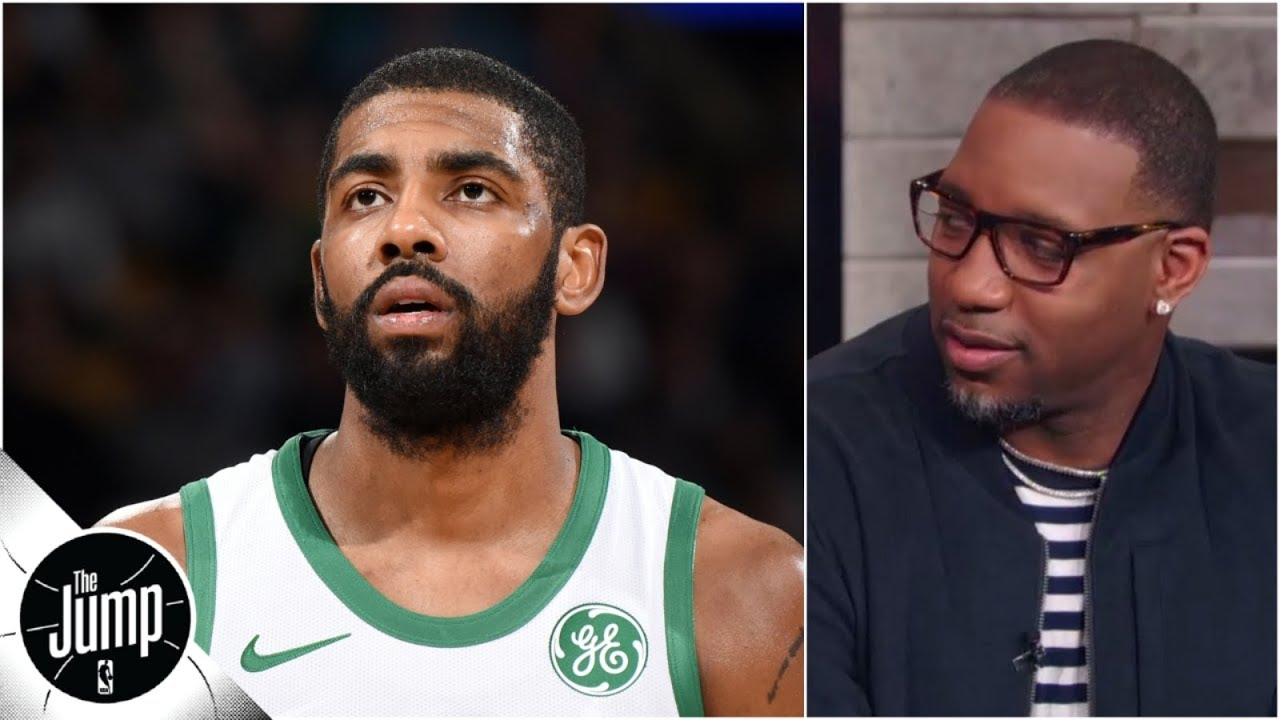 Tracy McGrady not having Kyrie's media complaints: 'This is what makes the league fun'   The Jump