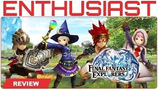 Final Fantasy Explorers Review for 3DS - Nintendo Enthusiast