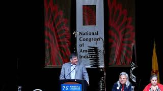 NCAI 2019 NATIONAL CONGRESS OF AMERICAN INDIANS -  Mark Trahant   Indian Country Today