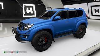 Forza Horizon 4 - 2016 Toyota Land Cruiser Arctic Trucks AT37 - Customize and Drive