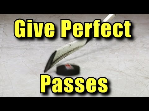 Improve Your Passing - How to Pass in Hockey