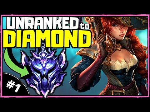 MISS FORTUNE | Unranked To Diamond ADC [Ep. 1] | League Of Legends (Season 10)