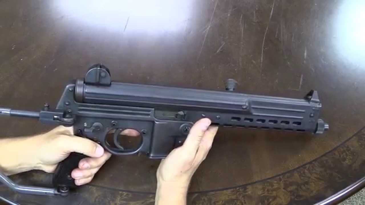 Walther MPL Submachine Gun