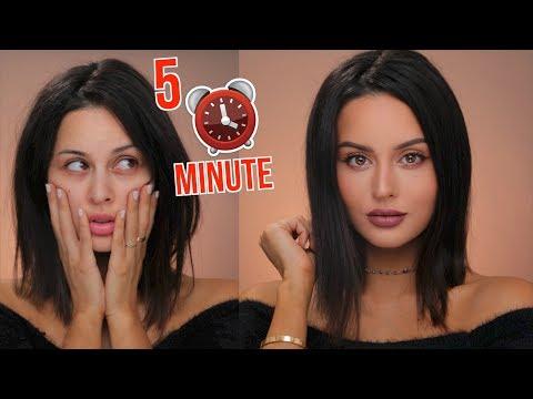 5 Minute Drugstore Makeup Tutorial