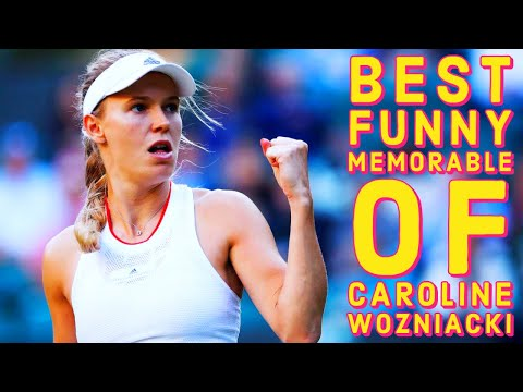 BEST and FUNNY and MEMORABLE Moments of Caroline Wozniacki