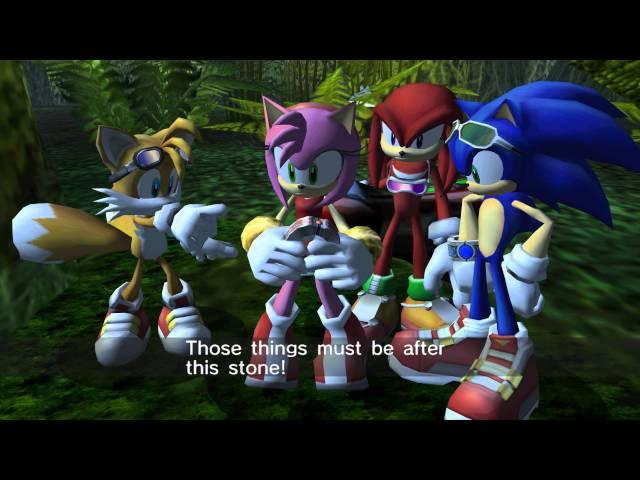 Sonic Riders Zero Gravity (Wii) Heroes Story