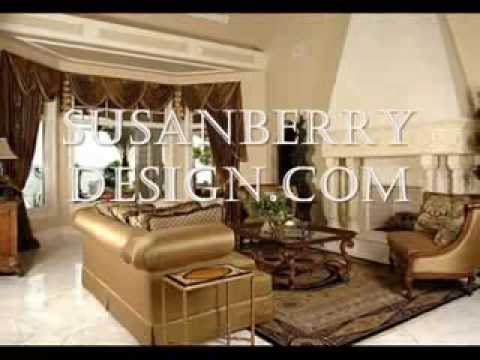 Luxury Celebrity European Dream Home Draperies Florida