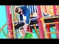 """Blind """"Hide and Seek"""" on a 3 Story Playground!!"""