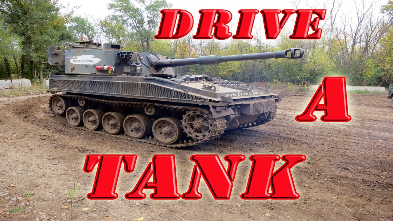 tank drive machine