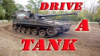 Drive A Tank, Crush a Car, and Shoot a Machine Gun!