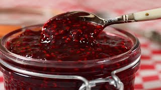 Raspberry Jam Recipe Demonstration - Joyofbaking.com