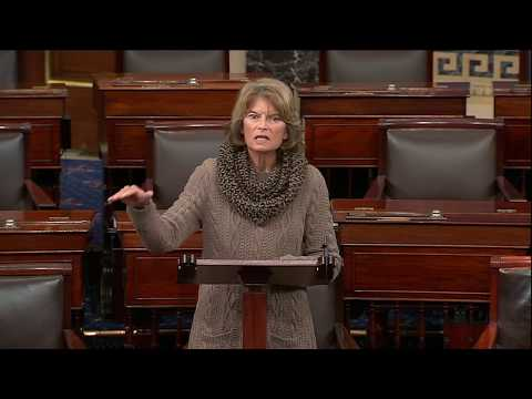Senator Murkowski Speaks on the Senate Floor on the Partial Government Shutdown and Border Security