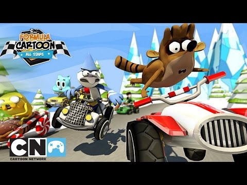 Трейлер Formula Cartoon All-Stars | Мобильная игра | Cartoon Network