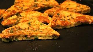 veg masala toast