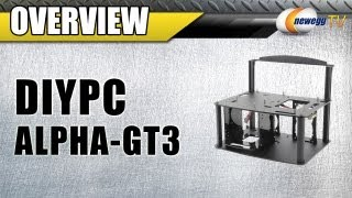 Newegg Tv: Diypc Alpha-gt3 Black Acrylic Open Computer Case Overview