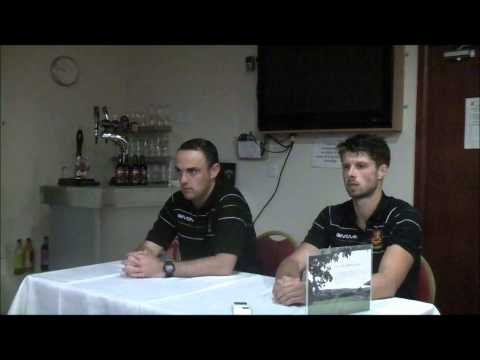 Robins 2-1 Valletta: Hughes and Oswell Press Conference