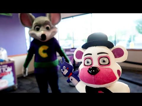 Chuck E Cheese Funtime Freddy Birthday SURPRISE!!!