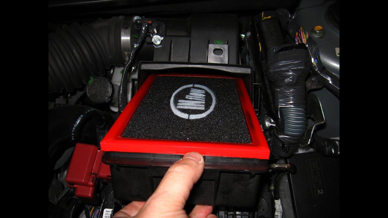 Substitui 231 227 O Do Filtro De Ar Original Por Inflow Nissan