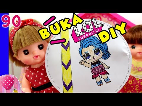 LOL Buatan Rena dan Nene, Buka LOL Homemade DIY - Mainan Boneka Eps 90 S1P10E90 GoDuplo TV