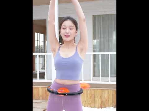呼拉圈  喚醒你的小蠻腰 瘦小腹神器 不會掉的呼拉圈 智能呼啦圈 男女健身器材 收腹美腰 健身圈