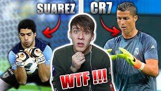 Wenn FELDSPIELER sich als TORWART versuchen! (ft. CR7, Messi, Suarez uvm...)