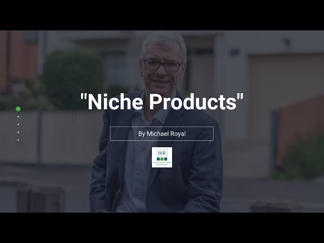 Niche Products | BIR Solutions