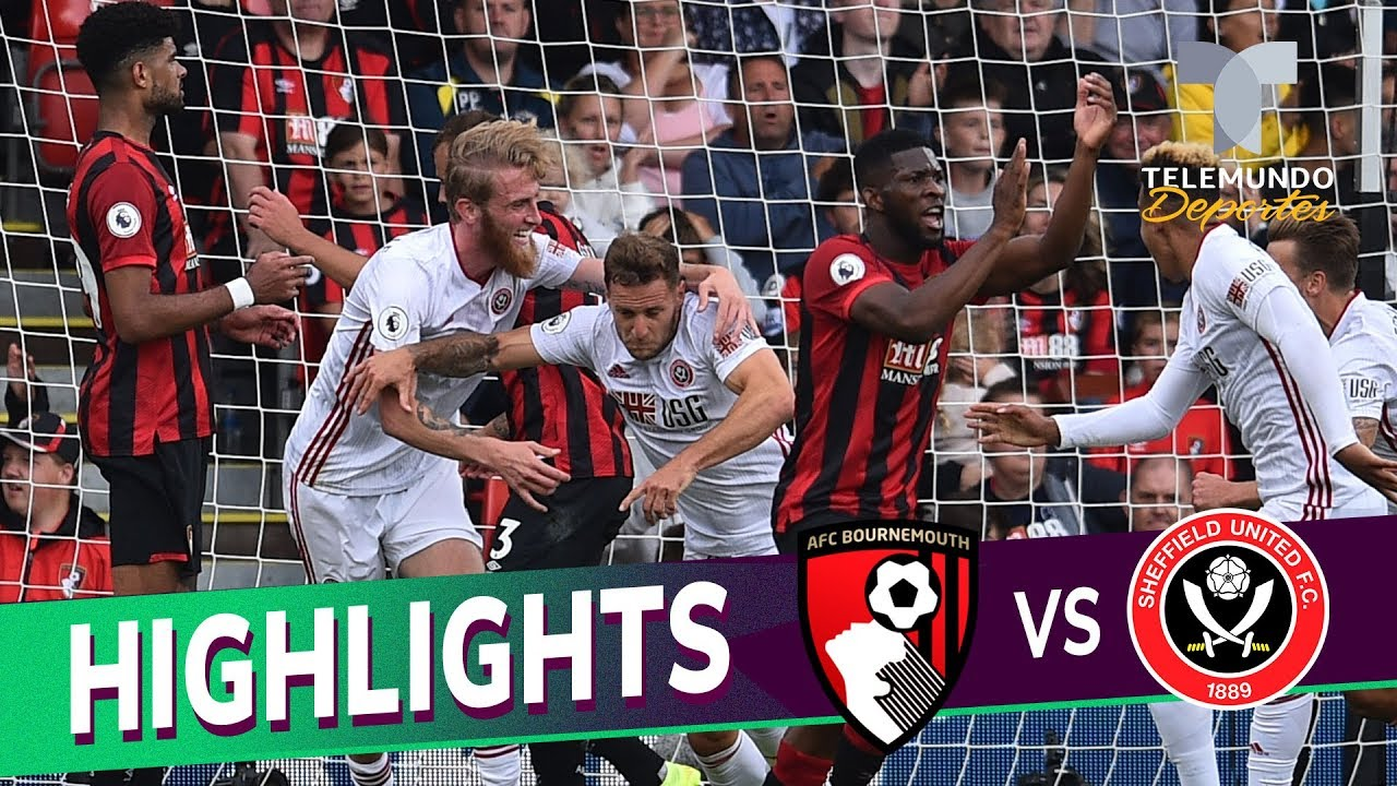 Bournemouth vs. Sheffield United: 1-1 Goals & Highlights | Premier League | Telemundo Deportes