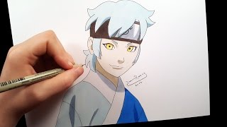 Mitsuki (collab with Jorge Henrique Draws and Raffa Arts)   speed drawing