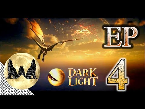 DARK AND LIGHT EP 4: HOW TO GET IRON WEAPONS FAST!!! NEW SERVER HYPE!!!