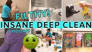 *SATISFYING* EXTREME CLEAN WITH ME 2021 | ALL DAY SPEED CLEANING MOTIVATION | CLEANING ROUTINE