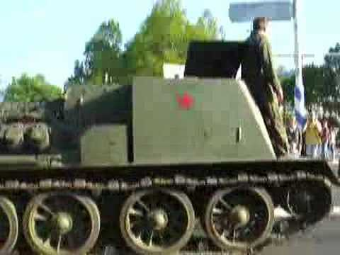 Tanks at Liberation Day, Wageningen, Netherlands