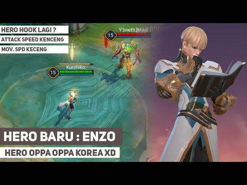 Hero Baru Lagi, Enzo Hadir Di Arena Of Valor AOV Test Server (Bai Li Xuance)