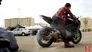 Mission: Impossible: Rogue Nation: Behind the Scenes of Motorcycles Stunts - Tom Cruise