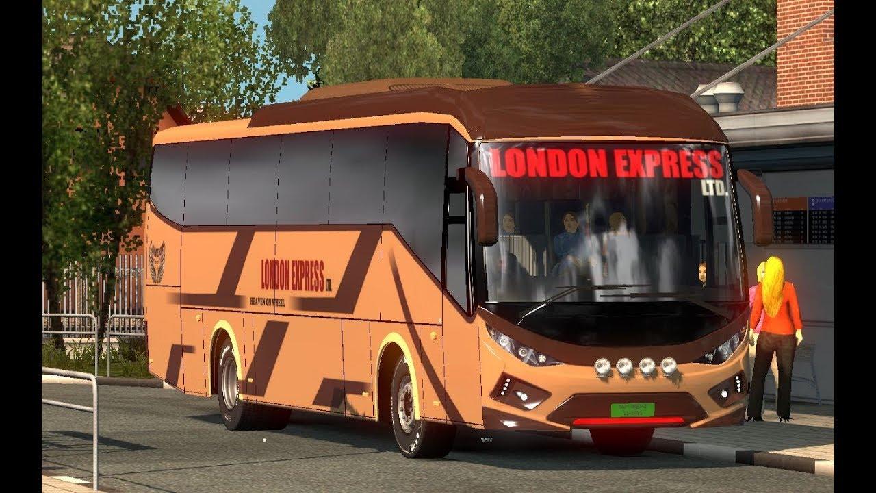 ETS2: London Express Bus | Dhaka to Feni | MAN 430 | Business Class Bus
