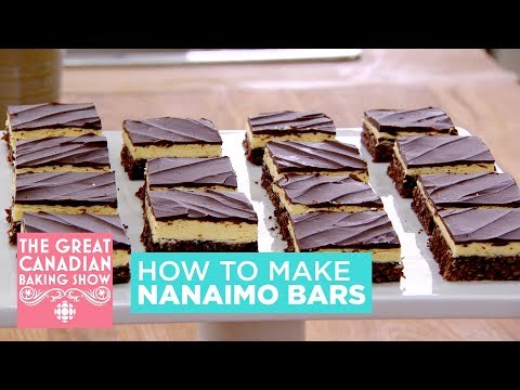 how-to-make-nanaimo-bars- -the-great-canadian-baking-show