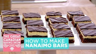 How to make Nanaimo bars | The Great Canadian Baking Show
