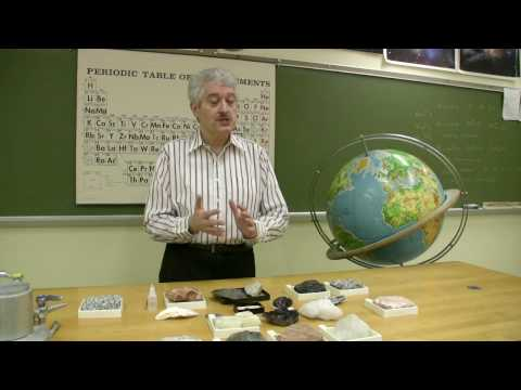 Rocks & Minerals : Identifying Types of Rocks