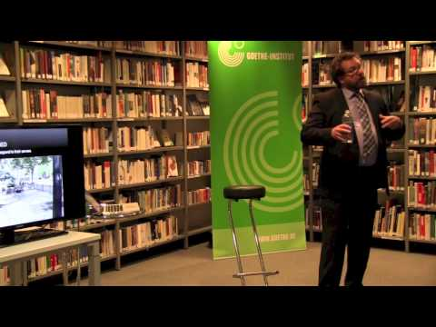Culture talks @ Goethe: Prof. Colin Ellard - The Psychology of Post-Oil