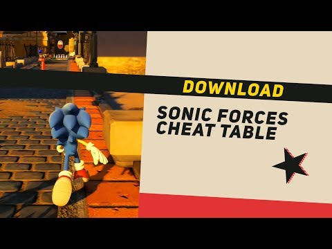 Sonic Forces Cheat Engine Table (Free , Easy to use & DOWNLOAD)